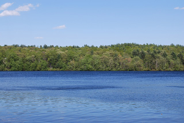 Lake Winthrop in Holliston